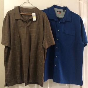 XXL Men's short sleeve shirts